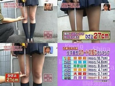 Ukuran Seragam SMA Jepang I Alasan Rok Seragam Jepang Pendek